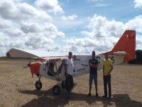 excursión en avioneta en Burgos