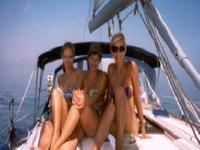 De paseo en un barco