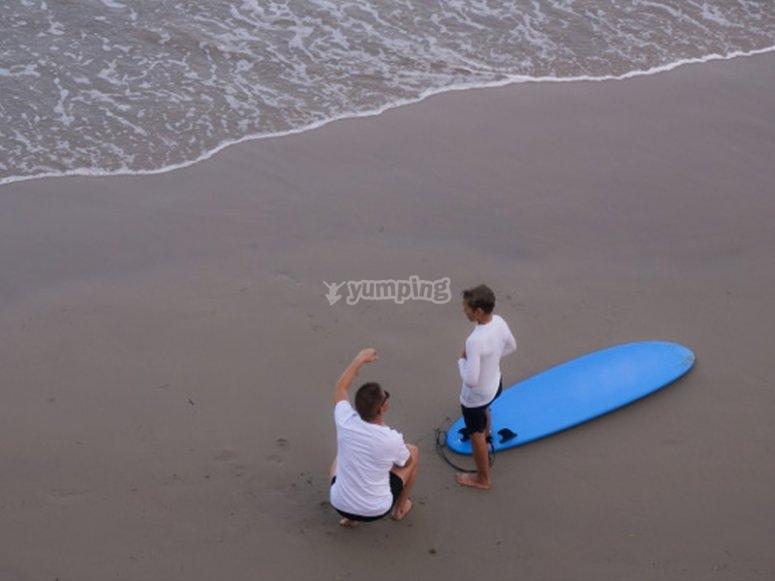 Curso de surf en canarias