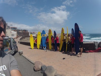 4 days of Surf course + hotel in Gran Canaria