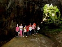 Caving for the little ones in Cantabria