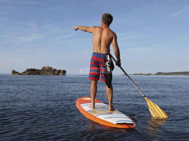 Paddle surf en San Agustín
