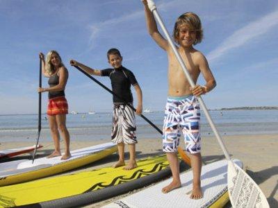 Bautismo de paddle surf en San Agustín 2 horas