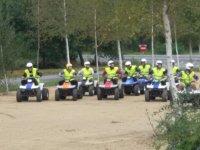 Ruta en grupo sobre el quad