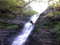 Descent of waterfalls