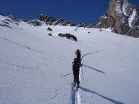 Probando边远地区滑雪