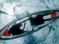 Kayak transparente en Gran Canaria