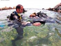 练习水下呼吸
