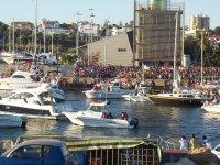 Mazagon码头的船只