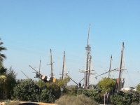 Caravels in Huelva