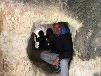 Cavità nelle rocce valenciane