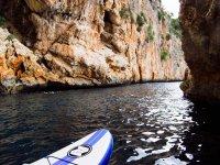 Paddle surf sulla costa valenciana