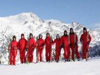 The monitors of Copos Ski Center