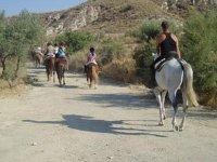 ruta a caballo por almeria
