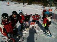 Club di sci per bambini