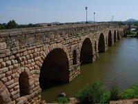 Roman bridge over Guadiana