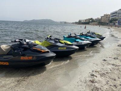 Two seater jet ski Playa de Talamanca 40 minutes