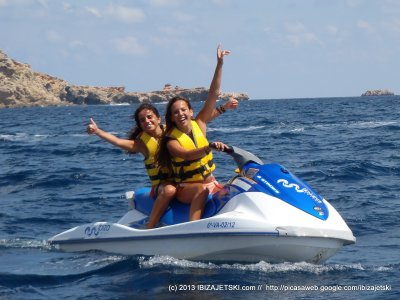 Moto de agua biplaza Playa de Talamanca 40 min