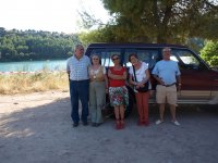 Grupo en laguna Santos Morcillo
