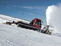 Cañon de nieve artificial