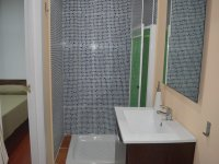 Complete bathroom in the lodging