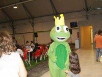 Charlando con froggy