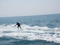 锡切斯海岸滑水