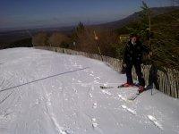 the skiing pin 6