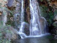 una cascada fascinante