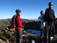 senderismo en La Pinilla
