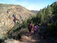 ruta de senderismo en familia por albacete