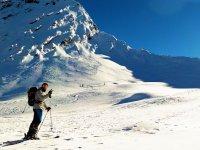 Expedicion con raquetas en el Pirineo