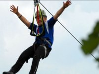 Fly in zip line