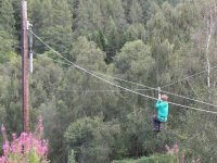 Zip line on pinilla
