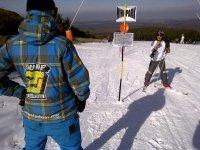 Skiing in Segovia