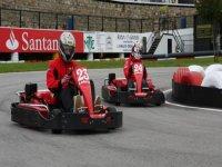 carrera en el circuito