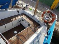 Cubierta de la embarcacion