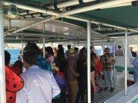 Fiesta a bordo del barco en Malaga