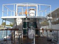 Stern deck of El Miarma