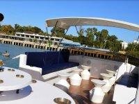 Sofas in the deck of El Mierma