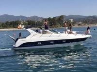 Alquiler de barco privado en Estepona desde 1 hora