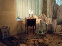 Lapida en la habitacion