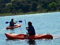 Canoas navegando en Zamora