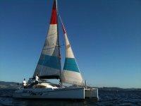 Catamaran rides