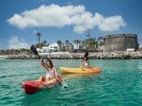 Kayak en Caleta de Fuste