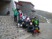 Grupo de senderistas