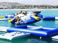 Hinchables en la costa de Fuerteventura