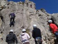 Escalada en roca apra grupos