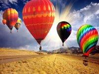 气球在空中
