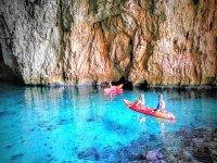 Kayak Cova del Llop Mari